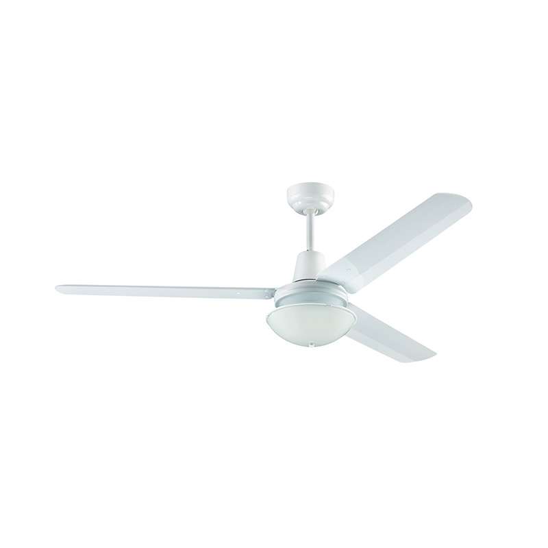 Household Ceiling Fan 56 Inch One Shade White Venti